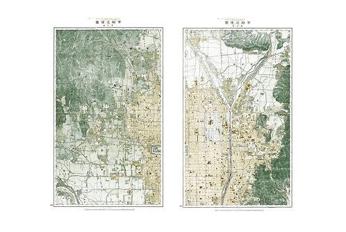 Kyoto and environs, 1900