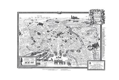 Roma, le quattro S.S. Basiliche, 1925