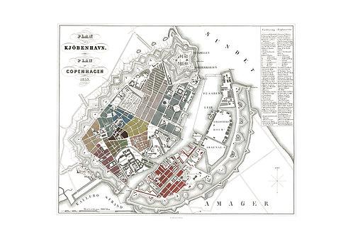 Plan de Copenhague, 1853