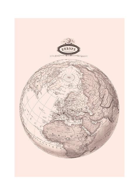 Europe spheroïdale, 1862
