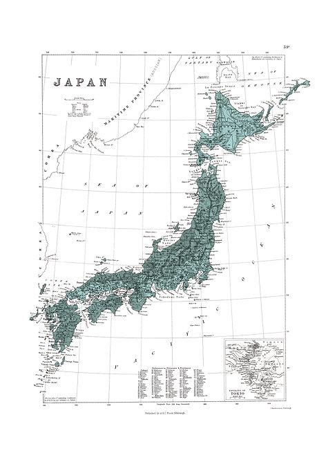 Japan, 1884