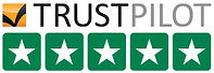 5 star ratings on trustpilot