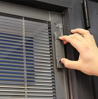 integral window blinds