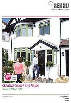 rehau colour brochure