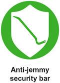 anti jemmy security