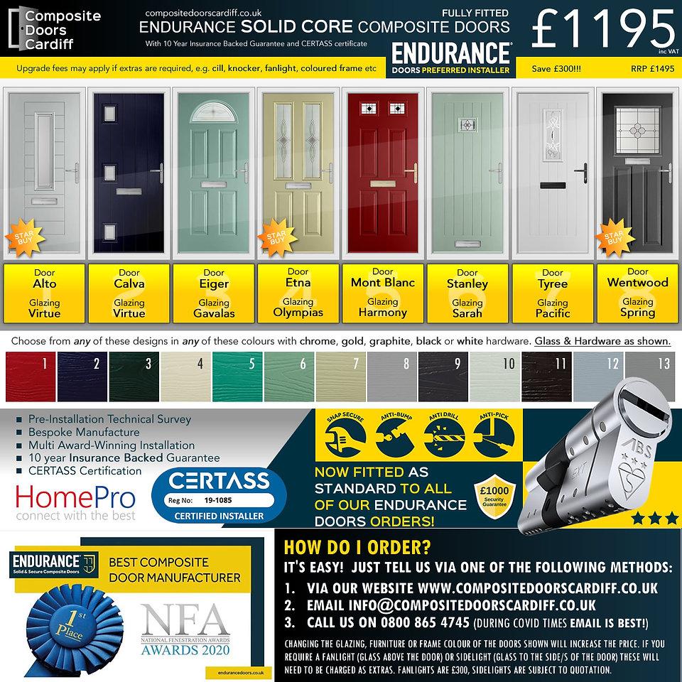 endurance doors special offer