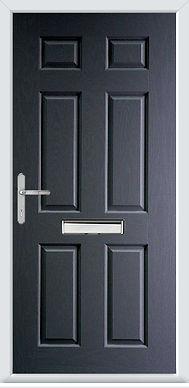 insulated composite door