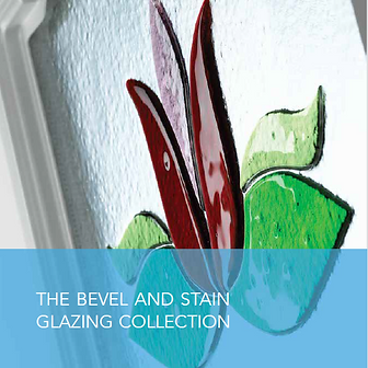 bevel and stained glass