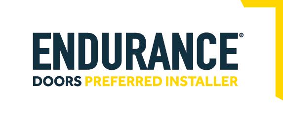 endurance doors preferred installer