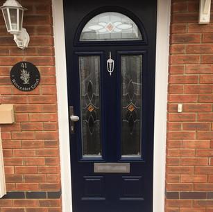 blue door barry