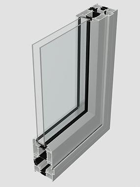 aluminium bifold profile