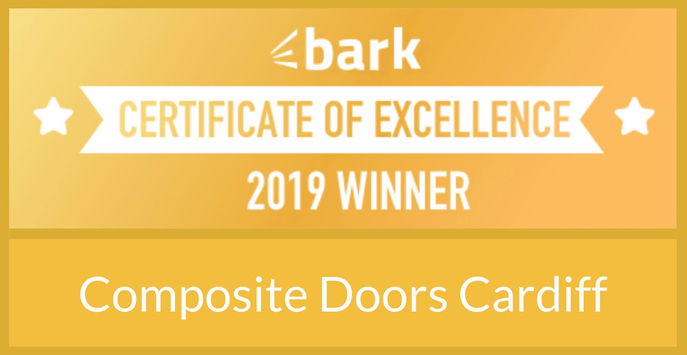 Bark Certificate of Excellence award