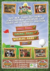 farm yard themed golf