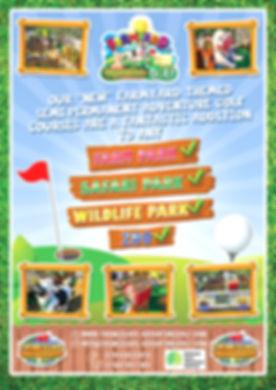 farm yard themed adventure golf