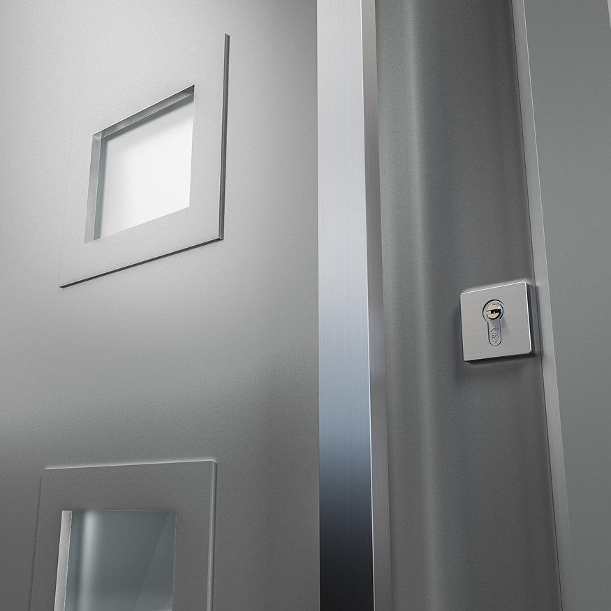 avantal aluminium style composite doors