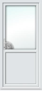 secure pvc back door