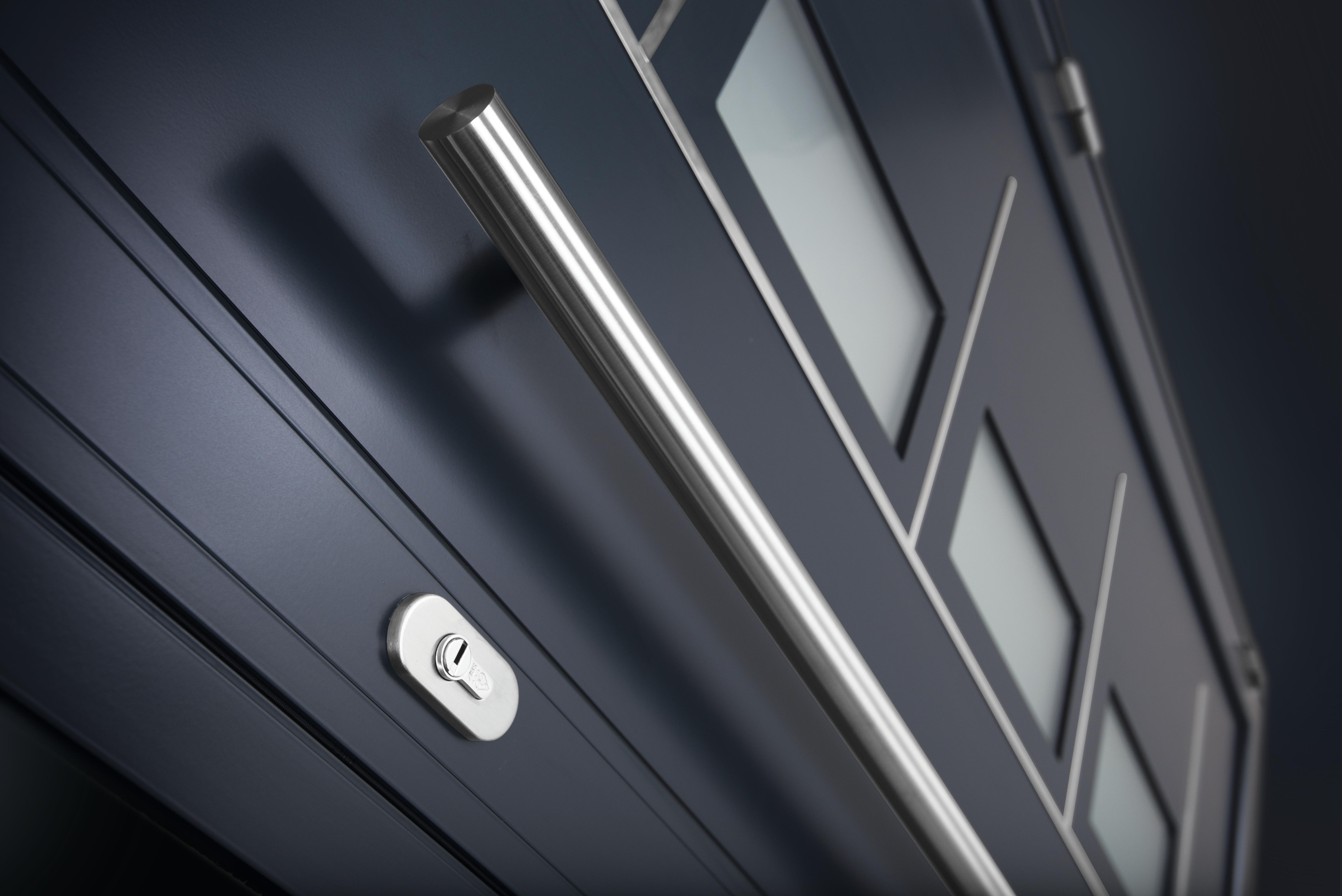 Aluminium residential doors