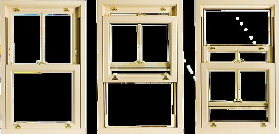 pvc box sash window