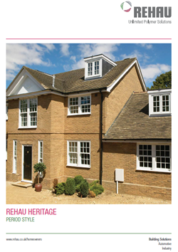 rehau heritage windows