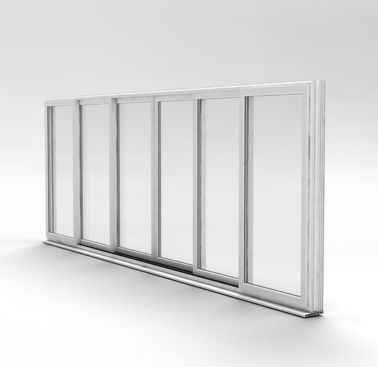 in-line sliding doors