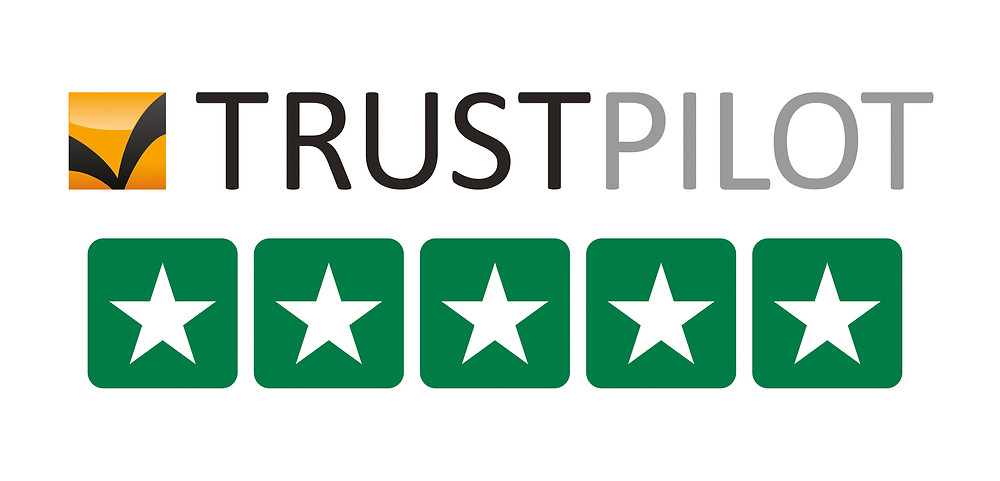 100% 5-Star Reviews on Trustpilot
