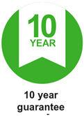 10 yea guarantee