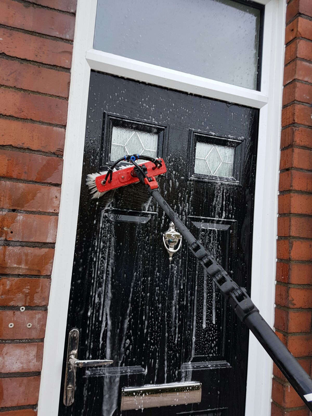Window and door cleaning