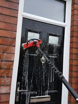 Window and door cleaning