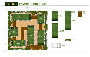 6 Hole / 12 Meter LAYOUT PLANS