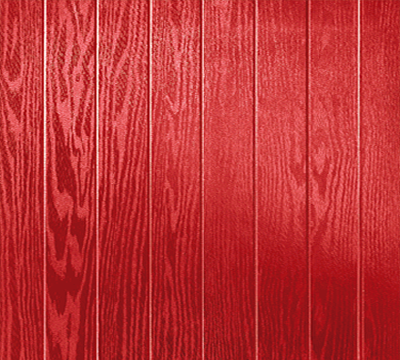 red composite door
