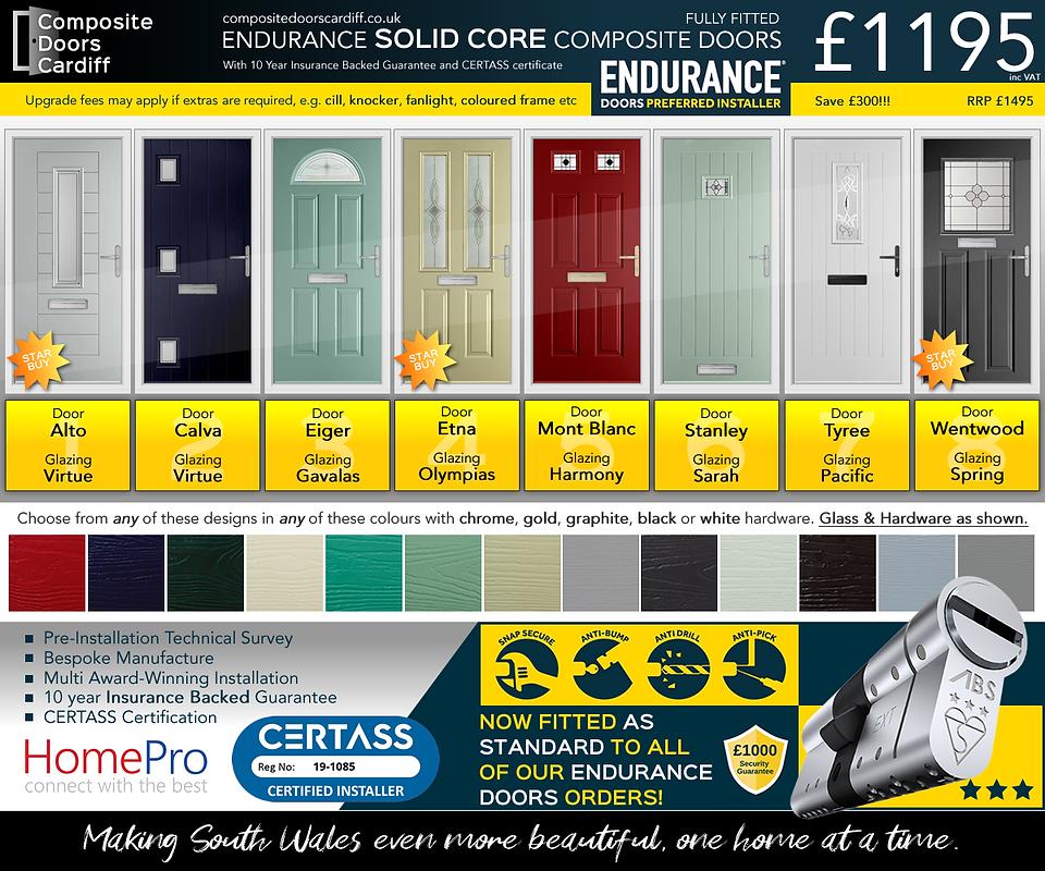 solid core endurance door offer