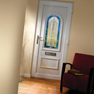 pvc front door barry