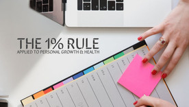 The 1% rule applied to personal growth, health & fitness
