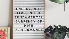 Manage your Energy for Maximum Productivity