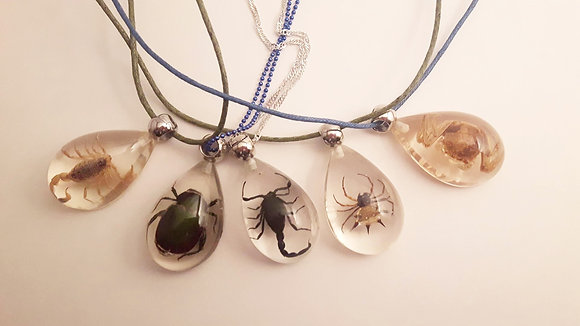Resin Creature Necklace