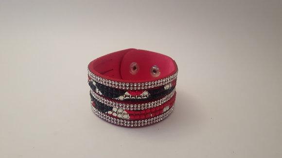 Pink Camo Bracelet