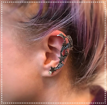 Firework/Star Ear Cuff