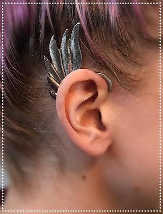 Silver Winged Cuff