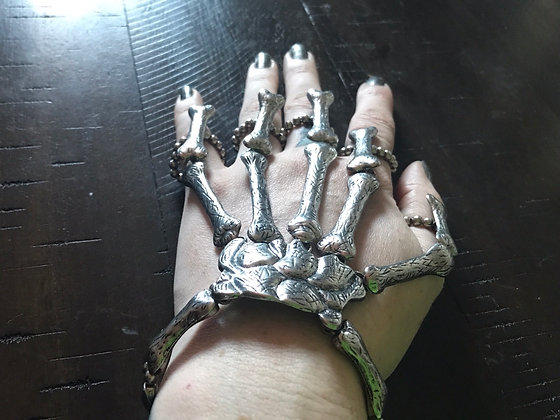 Skeleton Hand Bracelet/Rings