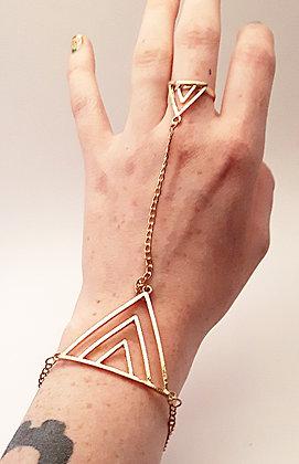 Triangle Bracelet/Ring