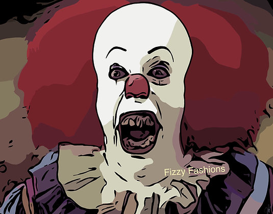 Pennywise (1990) Art Print