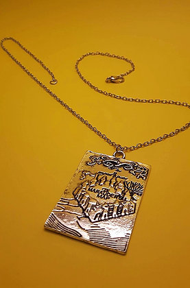 Marauder's Map Necklace