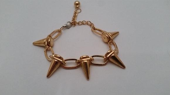 Spike-Rivet Bracelet