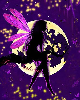 Moon Fairy Art Print