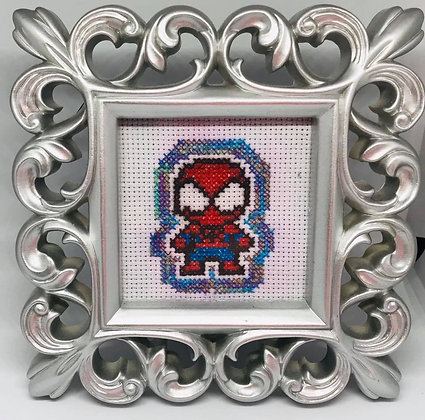 Spiderman Cross-stitch