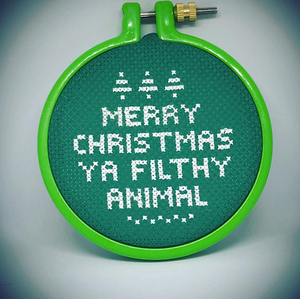 Home Alone Cross-stitch
