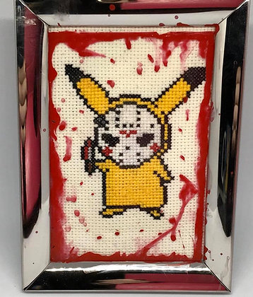 Pika-Jason Cross Stitch