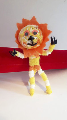 Lion String Doll