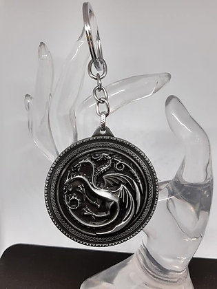 Targaryen Game of Thrones Keychain