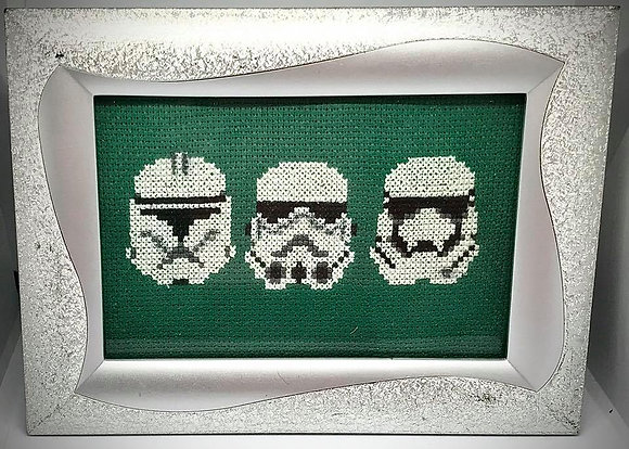 Stormtroopers Cross-Stitch